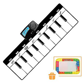 Electronic Musical Mat Carpets Keyboard Baby Piano Play Toy Instrument