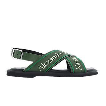 Alexander McQueen Logo crosbow Negru 604275wfrwc1040 pantof