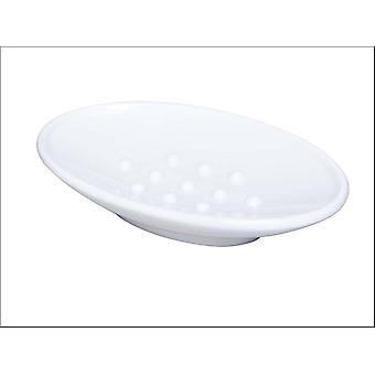 Home Label Madrid Soap Dish White 95775