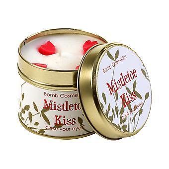 Bomb Cosmetics Tin Candle - Mistletoe Kiss,