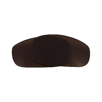 Replacement Lenses for Oakley Fives 2009 Sunglasses Anti-Scratch Dark Brown