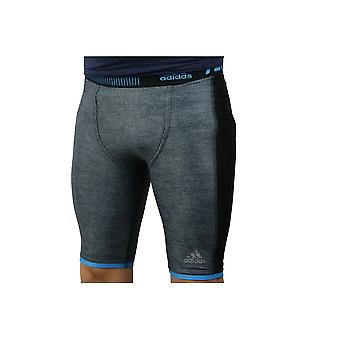 Adidas Techfit Chill Short Tights S27030 correndo calças masculinas do ano todo