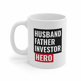Husband Father Investor Hero Mug