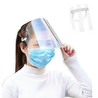 Unisex Anti-splash Protective Cover Face Shield Hat Adjustable Cap