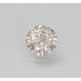 معتمد 1.12 قيراط أنا جولة الرائعة المحسنة الطبيعية فضفاضة الماس 6.81mm