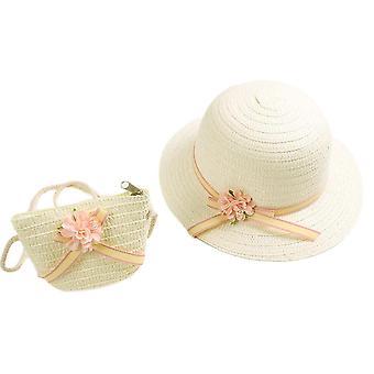 Sun Protection Rantahattu Värikäs Pom Pom Ball Summer Floppy Bucket Cap