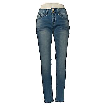 WallFlower Juniors' Jeans Curvy Insta Stretch Skinny Blue 33