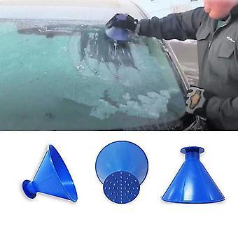 Car Window Snow Remover Shovel Cone Deicing