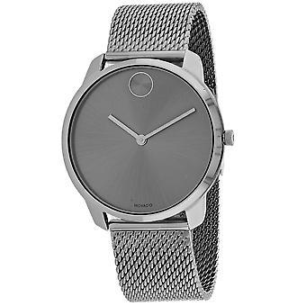 Movado Men's Bold Gunmetal  Dial Watch - 3600599