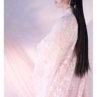 Vrouwen dansen Qing Dynastie Kostuums, Oude Hanfu Traditionele Jurk