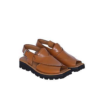 Mens Leather Fisherman Lightweight Pu Sole Sandal