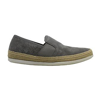 Vince Mens Chad Leather Low Top Pull On Fashion Sneakers