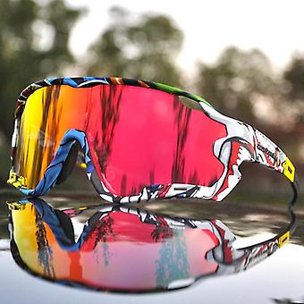 Polarized Mountain Bike Cycling Glasses - Outdoor Sports Goggles