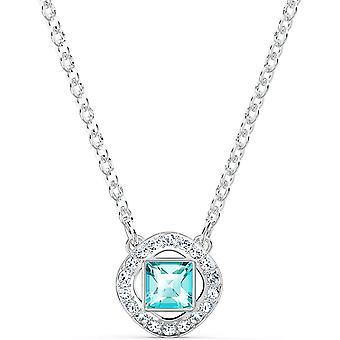 Swarovski Women's Angelic Square Necklace, Brilliant Crystals