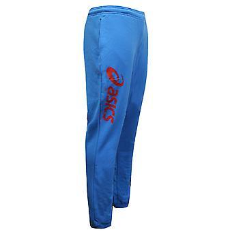Asics Mens Sigma Svette Bukser Spor Bunner Joggere Blå 2015XZ 5A8P A19B