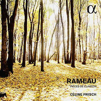 ラモー/Frisch、セリーヌ ・ ラモー: ピース ・ デ ・ クラヴサン [CD] USA 輸入