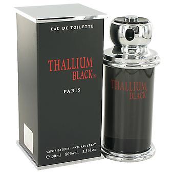 Thallium Black by Yves De Sistelle Eau DeToilette Spray 3.3 oz / 100 ml (Men)