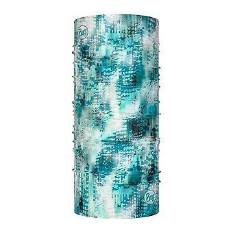 Buff CoolNet UV Pasamontañas Bandana máscara cara cuello bufanda tubular - Blauw Turquoise