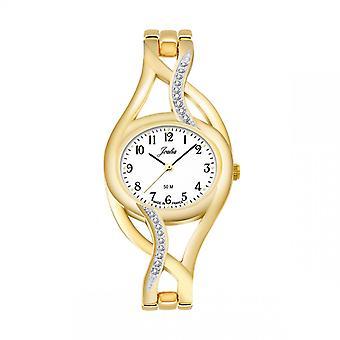Certus 630510 se-Joalia Steel dor e kvinners klokke