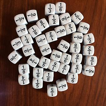 White Fraction Dice