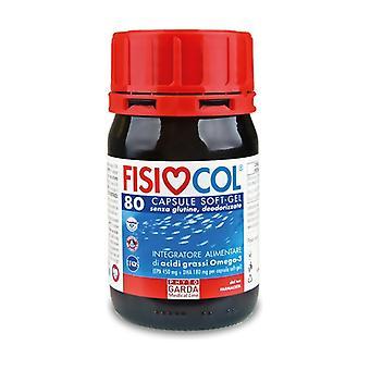 Omega 3 physiocol 80 softgels