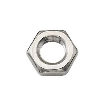M10 A2 Stainless Steel Half Nut Din439 5