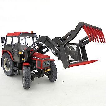 7745 1:32 Traktori, 4 työkalua, jotka voit valita taittuvan leikkaamisen 3D-paperimallista