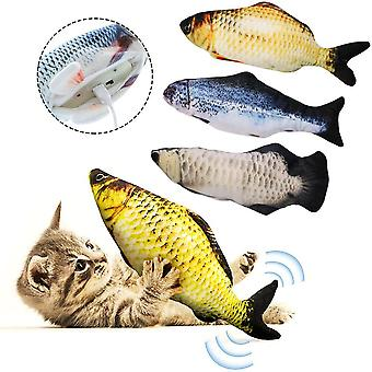 Electronic Pet Cat Toy Electric Usb Charging Simulation Fish Sp