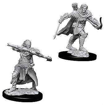 Pathfinder Deep Cuts Unpainted Miniatures Male Half-Elf Ranger (Pack of 6)
