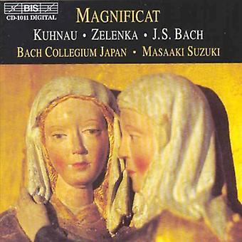 Kuhnau/Zelenka/Bach - Magnificat [CD] USA import