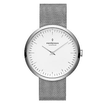 Nordgreen Nr36simesixx White Dial Unisex Analog Watch