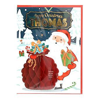 Geschichte & Heraldik vorpersonalisierte Weihnachtskarte für Thomas