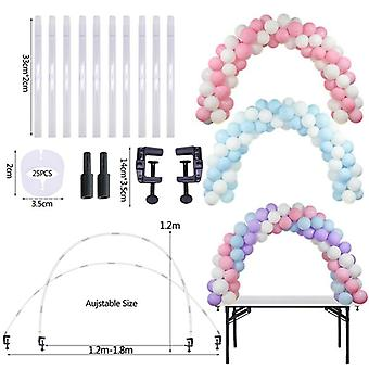 Balloons Holder Column Stand, Birthday Party Chain, Table Arch Kits,