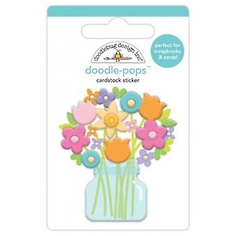 Doodlebug Design Bright Bunch Doodle-Pops