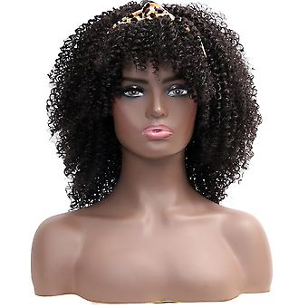 Chemical fiber headband wig headgear African lady explosive head