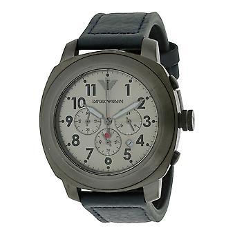 Emporio Armani Sport cuero reloj para hombre AR6086