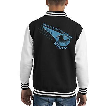 Pan Am Wings Over The World Kid's Varsity Jacket