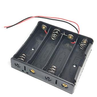 Battery Holder Storage Box Case 1 2 3 4 Slot Batteries Container Abs 18650