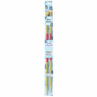 Ponin neuletaksit: Yksipäiset: Käsin värillinen: Flair: 30cm x 5.50mm
