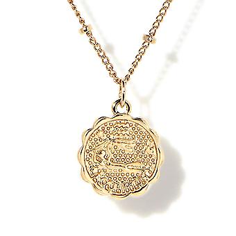 Collar de medalla astrológica ToEAU