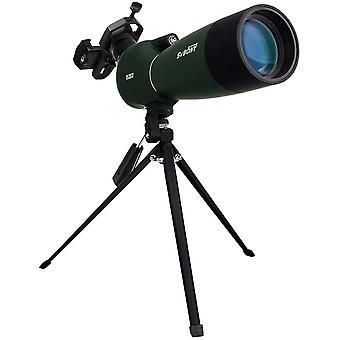 Svbony SV28 Spotting Scope 25-75x70 Bak4 Porro Prism Impermeabile Monoculare Potente Spotting Scope Potente Adattatore per telefono treppiede per birdwatching (verde)