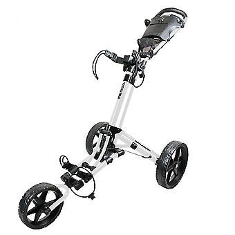 FastFold Trike 2.0 Wheel Push Golf Cart Trolley Wit/Zwart
