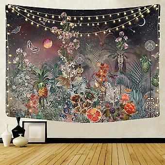 95 * 73 cm kodin sisustus seinäpeitto seinävaate ripustus kangas taustaseinä kattaa makuuhuoneen seinän ripustus