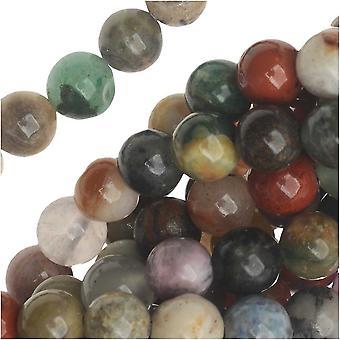 Dakota Stones Gemstone Beads, Mixed Stones, Round 6mm, 15.5 Inch Strand