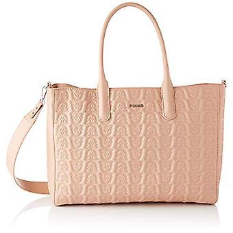 Pinko 1P21XS_Y6NX, Love Shopping Monogram Nappa T Donna, Q19_Light Pink, U