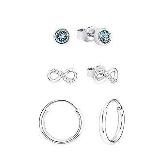 amor Women's set in sterling silver 925, Swarovski Cryst Infinity