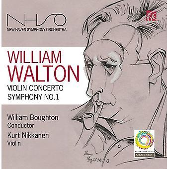 W. Walton - William Walton: Vioolconcert; Symfonie No. 1 [CD] USA importeren