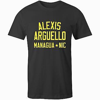 Alexis arguello bokslegende t-shirt