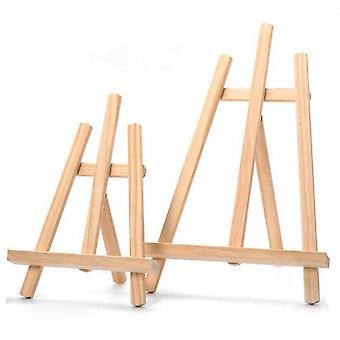 Drewniane regulowane malowanie & rysunek Stand Sztyleka Frame Artist Statyw Wyświetlacz