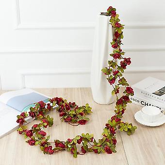 人工花ガーランド, 結婚式, ホーム, 部屋の装飾, 春, 秋, アーチ